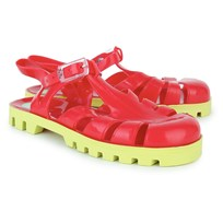 Project Jelly Watermelon Rocks Jelly Shoes Red