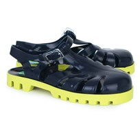 Project Jelly Neon Rocket Jelly Shoes Navy