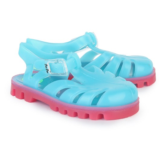 Project Jelly Bubblegum Jelly Sandals Blue