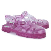 Project Jelly Mivi Transparent Glitter Jelly Shoes Pink