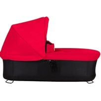 Mountain Buggy Carrycot Plus w/Sunhood Berry Rød