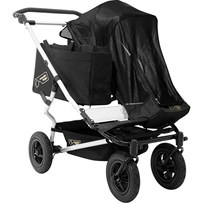 Mountain Buggy Solskydd, Duet Black