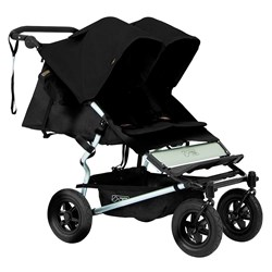 Mountain Buggy Syskonvagn, V2.5, Duet, Black