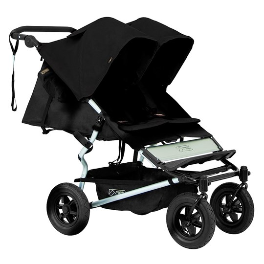 Mountain Buggy Syskonvagn, V2.5, Duet, Black Black