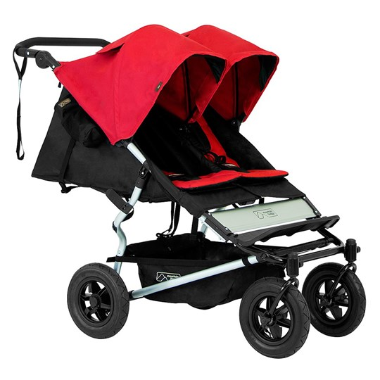 Mountain Buggy Syskonvagn, V2.5, Duet, Chilli Red