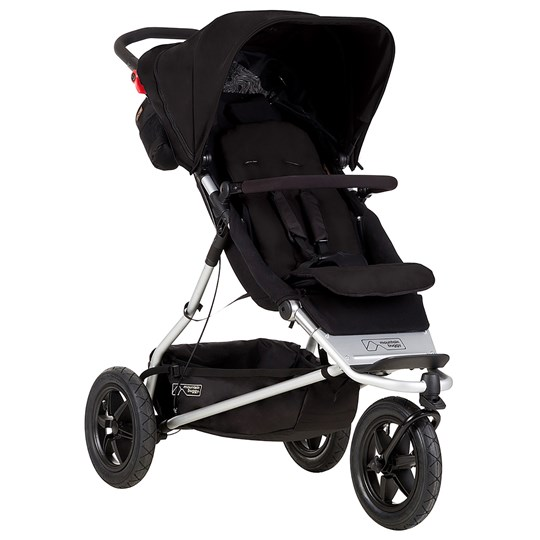 Mountain Buggy Plus One Barnvagn Svart Black