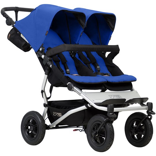 Mountain Buggy Duet Syskonvagn Marine Blue