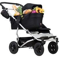 Mountain Buggy Singelvagn, Duet v.3, Black Black