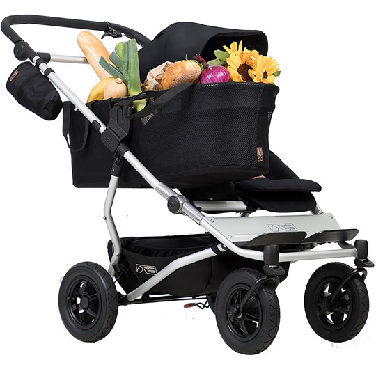 Mountain Buggy Duet Single Stroller Black Black