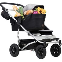 Mountain Buggy Singelvagn, Duet v.3, Silver Silver