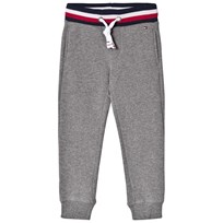 Tommy Hilfiger Grey Branded Sweatpants 053