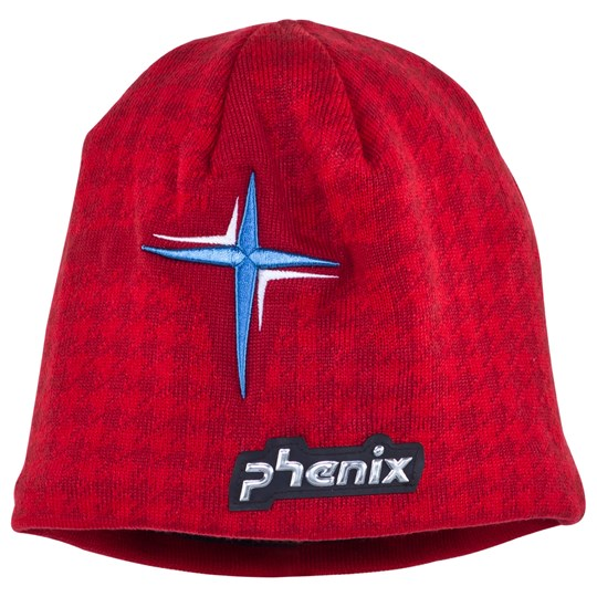 Phenix Sagne Beanie Red Red