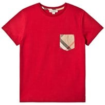 Burberry T-Shirt Garcon Red Red