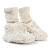 Anïve For The Minors Baby Slippers Teddy White White