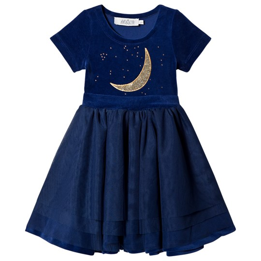 Anïve For The Minors Dancing Dress Midnight Sky Blue Blue