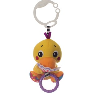 Image of Playgro Stroller Toy Wiggling Buddy Duck (2863656889)