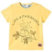 Modéerska Huset T-Shirt Love & Friendship Yellow