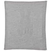 United Colors of Benetton Knitted Bunny Blanket Light Grey Light Grey