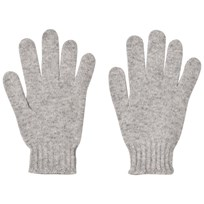United Colors of Benetton Wool Gloves Light Grey Light Grey