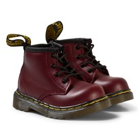 Dr. Martens Brooklee Delaney Boots Cherry Red