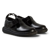 Dr. Martens Black Ryan Leather Toddler Shoes BLACK T LAMPER