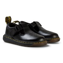 Dr. Martens Black Dulice Toddler Leather Boots BLACK T LAMPER
