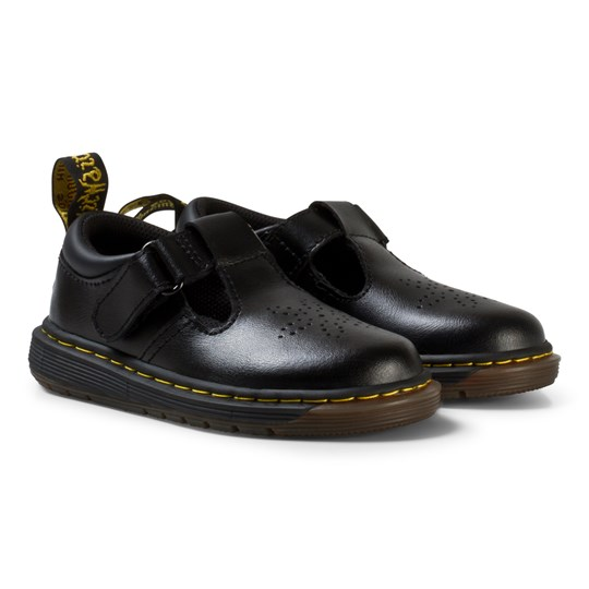 Dr. Martens Black Dulice Leather Toddler Shoes BLACK T LAMPER