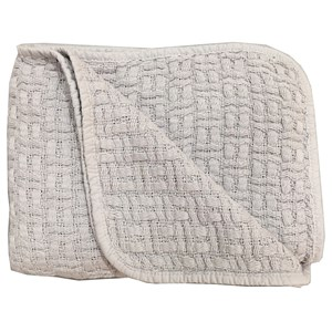 Image of rattstart Grey Structured Blanket (3125329421)