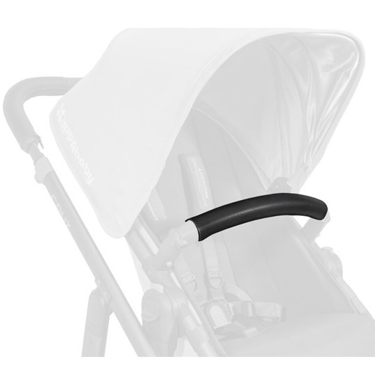 UPPAbaby Leather Bumper Bar Cover Black Black