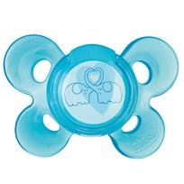Chicco Physio Comfort Pacifier 6-12m Silicone Blue Blue