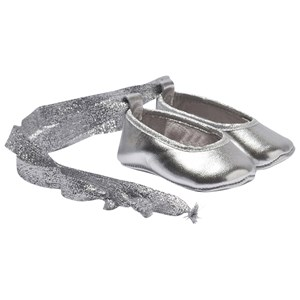 Image of DOLLY by Le Petit Tom Baby Ballerina Silver 16 (0-6 mdr, 10 cm) (2743705265)