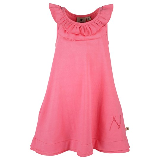 Nova Star Flounce Dress Pink Pink