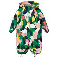 Stella McCartney Kids Green Multi Camo Speedy Snow Suit 2865