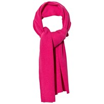 United Colors of Benetton Wool Knit Scarf Fuschia Fuschia