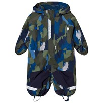 Stella McCartney Kids Navy Multi Camo Speedy Snow Suit 2864