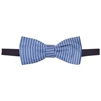 United Colors of Benetton Woven Diamond Print Bow Tie Blue Blue