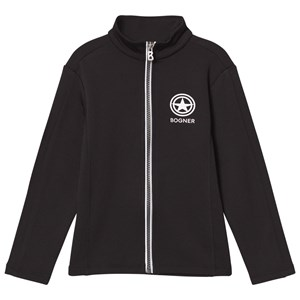 Image of Bogner Black Matt Mid Layer Full Zip Top M (6-7 years) (2844037241)