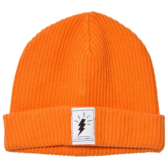 Civiliants Knitted Beanie Orange Orange