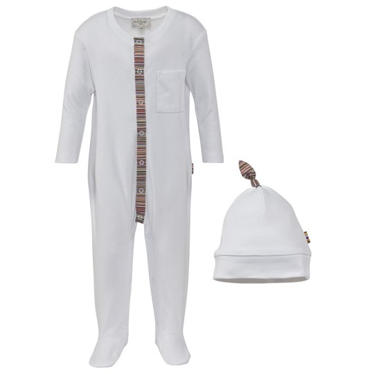 Paul Smith Junior With Footed Baby Body and Hat Set 1