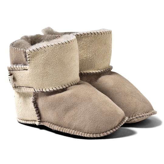 Shepherd Borås Slippers Stone/Honey Stone/Honey