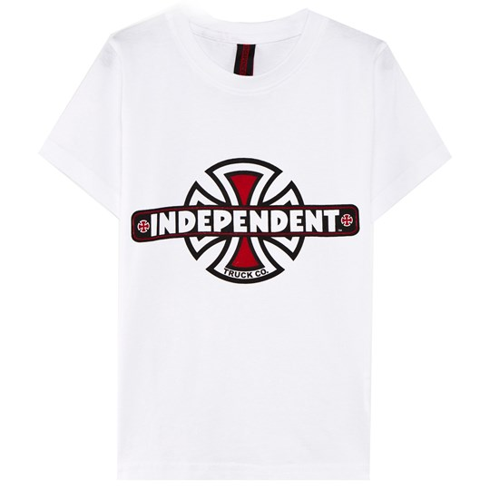 Independent Vintage Bc Youth Tee White White