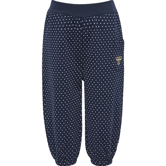 Hummel Dark Navy Causal Trousers Navy
