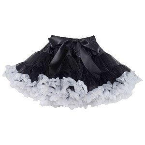Image of DOLLY by Le Petit Tom Black Beauty Pettiskirt Black/White Petite (1-3 år) (2743726041)