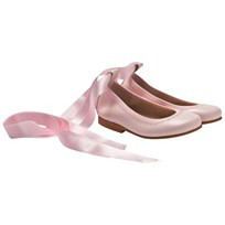 DOLLY by Le Petit Tom Ballerina Light Pink Leather Lyserød