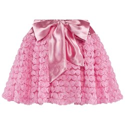 DOLLY by Le Petit Tom Dolly Rosettes Balloon Skirt Pink