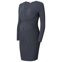 Esprit Maternity Dress Nursing LS Dark Grey Dark grey