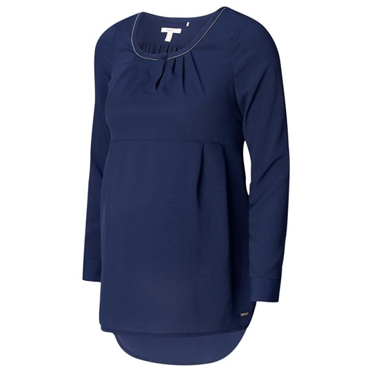 Esprit Maternity Blouse Wvn LS Night Blue Night Blue