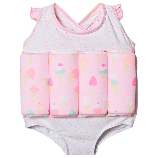 Sunuva Pink Girls Ice Cream Floatsuit Pink