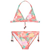 Sunuva Orange Girls Aloha Triangle Bikini Orange