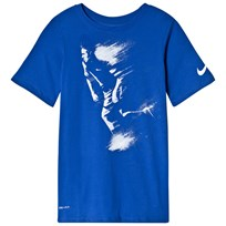 NIKE Neymar Printed Blue Tee Game Royal